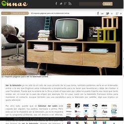 32 mejores páginas para ver la televisión online