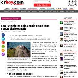 Los 10 mejores paisajes de Costa Rica, según diario español