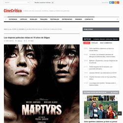 Las mejores películas vistas en 10 años de Sitges