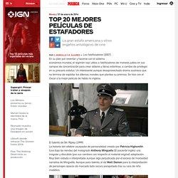 Movies: Top 20 mejores películas de estafadores