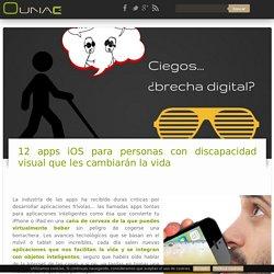 12 mejores apps iOS para ciegos y personas con discapacidad visual