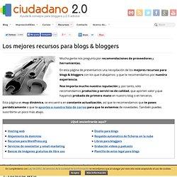 Los mejores recursos para blogs & bloggers