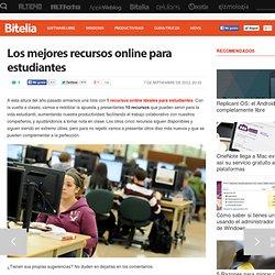 Los mejores recursos online para estudiantes