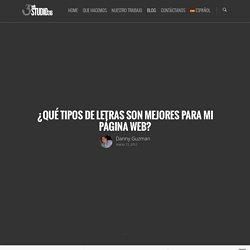 ¿Qué Tipos De Letras Son Mejores Para Mi Página Web? - Diseño de páginas web en El Salvador, Diseño Gráfico y Redes Sociales