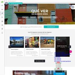 Los mejores sitios qué ver en Buenos Aires Ciudad y qué hacer en Buenos Aires Ciudad