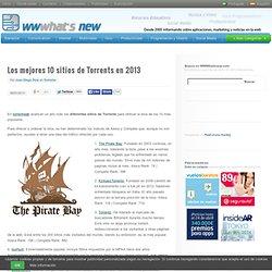 Los mejores 10 sitios de Torrents en 2013