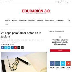 20 apps para tomar notas en la tableta