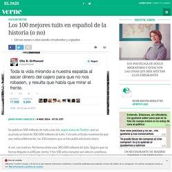 Los 100 mejores tuits en español de la historia (o no)