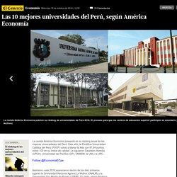 El Comercio - Las 10 mejores universidades del Perú - América Economía