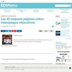 Magí Barneda recomienda las 10 mejores webs con videojuegos educativos - EDUforics