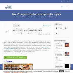 Las 10 mejores webs para aprender inglés