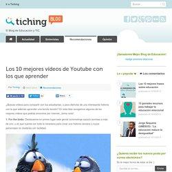 Los 10 mejores vídeos de Youtube con los que aprender