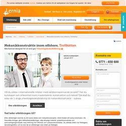 Mekanikkonstruktör inom offshore, Trollhättan - lernia.se