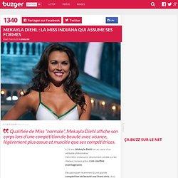 Mekayla Diehl : la Miss Indiana qui assume ses formes