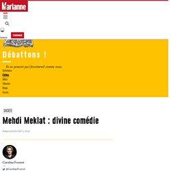 Mehdi Meklat : divine comédie