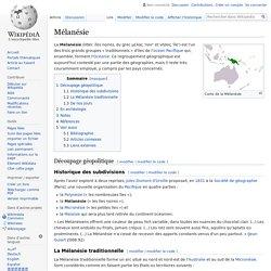 Mélanésie