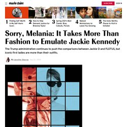 Melania Trump Tries to Emulate Jackie Kennedy—It's Not Working