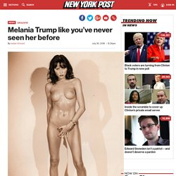 Melania Trump like you've never seen her before