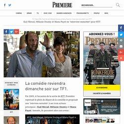 """Kad Merad, Mélanie Doutey et Manu Payet en """"interview menottée"""" pour RTT"""