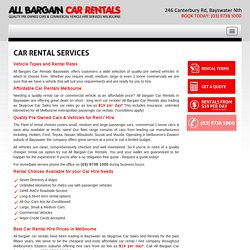 Ute Hire Rental Melbourne, Glen Waverley, Lilydale, Wantirna, Croydon, Ringwood, Ferntree Gully, Bayswater, Car Rental Hire Croydon, Car Rentals Nunawading, Rent a Cheap Car Kilsyth