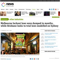 Melbourne: The city where pub and bar lockouts didn't work