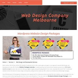 Website Design Melbourne: Web Development Company Australia