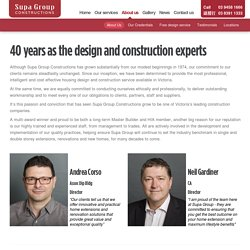 Melbourne Home Extension Builders