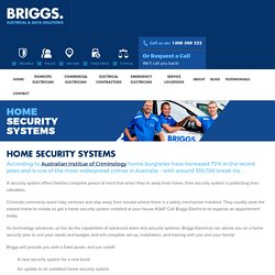 Home Alarm Systems and CCTV Installation