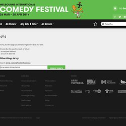 Melbourne International Comedy Festival 2010