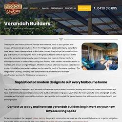 Professional Verandah Builders in Melbourne