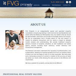 FVG Property Consultants and Valuers Melbourne