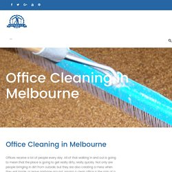 Office Cleaning Melbourne - Sparkleoffice