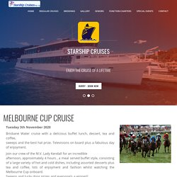 Melbourne Cup Cruise New South Wales - Starship Cruises
