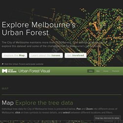 Melbourne Urban Forest - Visual