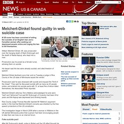 Melchert-Dinkel found guilty in web suicide case