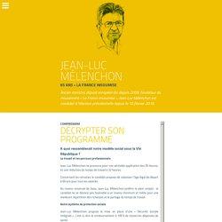 Jean-Luc Mélenchon, candidat à l'élection, et son programme santéplacedelasante.fr