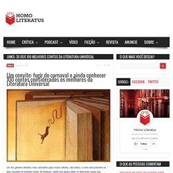 Links: 30 dos 100 melhores contos da literatura universal