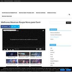 Melhores Musicas Roupa Nova para Ouvir - Musicas TV.com