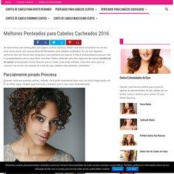 Melhores Penteados para Cabelos Cacheados 2016 - Cabelos Beleza .com