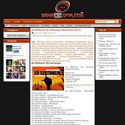 Download As Melhores do Sertanejo [Dezembro 2011] Baixar