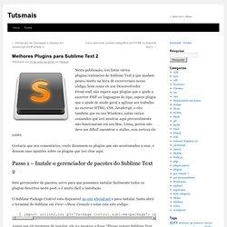 Melhores Plugins para Sublime Text 2