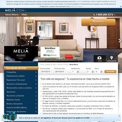 Meliá Milano - Hotel en Milán - ITALIA
