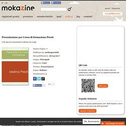 melinapresti66 - Presentazione per Corso di formazione Presti