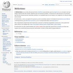 Meliorismo
