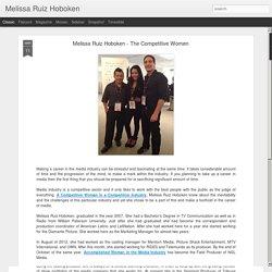 Melissa Ruiz Hoboken - The Competitive Women