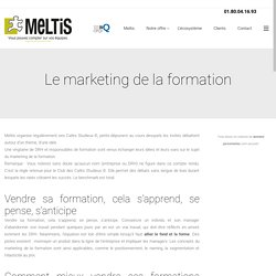 Le marketing de la formation