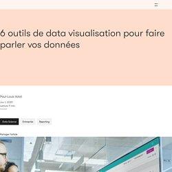 6 outils accessibles de data visualisation à découvrir