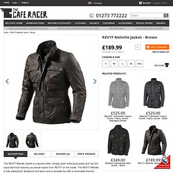 REV'IT Motorcycle and Motorcycle Jackets