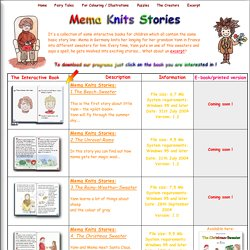 Mema Knits Stories