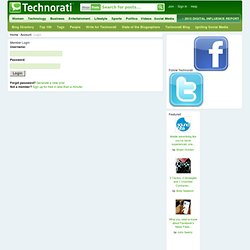 Member Login - Technorati